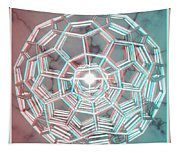 Knotplot 3 - Use Red-cyan 3d Glasses Tapestry