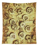 Knots And Buttons Tapestry