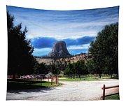 Koa Devils Tower Wyoming Tapestry