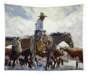Koerner: Cowboy, 1920 Tapestry