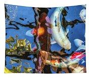Koi Pond Tapestry