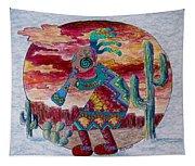 Kokopelli 7 Tapestry