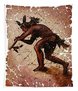 Kokopelli The Flute Player  Tapestry