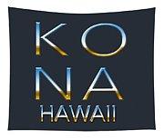 Kona Hawaii Tapestry