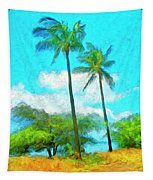 Kona Palms Tapestry