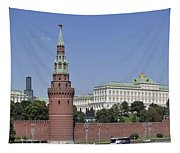 Kremlin Wall Panorama Tapestry