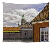 Kronborg Castle From The Moat House Tapestry