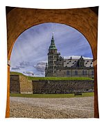 Kronborg Castle Through The Archway Tapestry