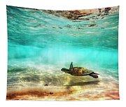 Kua Bay Honu Tapestry