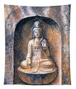Kuan Yin Meditating Tapestry