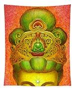 Kuan Yin's Buddha Crown Tapestry