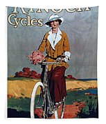 Kynoch Cycles - Bicycle - Vintage Advertising Poster Tapestry