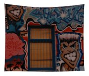 L A Urban Art Tapestry