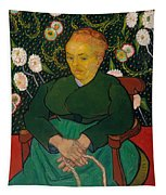 La Berceuse. Woman Rocking A Cradle. Augustine-alix Pellicot Roulin Tapestry