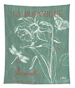 La Botanique Aqua Tapestry by Debbie DeWitt