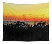 la Casita Playa Hermosa Puntarenas Costa Rica - Sunset A Panorama Tapestry