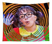 La Chilindrina In A Spin Tapestry
