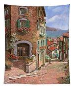 La Discesa Al Mare Tapestry