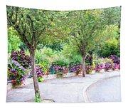 La Gacilly, Morbihan, Brittany, France, Streetscape Tapestry