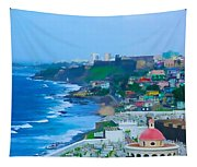 La Perla In Old San Juan Tapestry