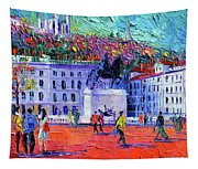 La Place Bellecour A Lyon Tapestry