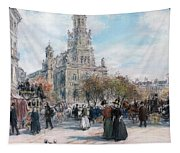 La Place De Trinite Tapestry