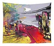 La Place Rouge Espagnole Tapestry
