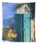 La Porta Verde Tapestry