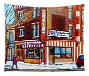 La Quebecoise Restaurant Montreal Tapestry