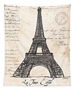 La Tour Eiffel Tapestry