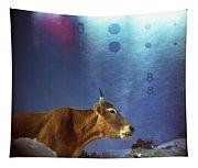 La Vache Numerique Tapestry