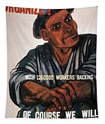 Labor Poster, 1930s Tapestry