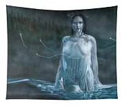 Lady In The Lake Tapestry