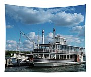 Lady Of The Lake Wisconsin Tapestry