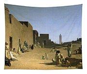 Laghouat In The Algerian Sahara Tapestry