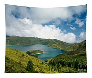 Lagoa Do Fogo Tapestry