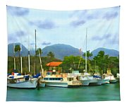 Lahina Harbor Tapestry