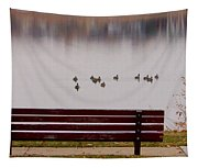Lake Bench Tapestry