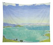 Lake Geneva From The Caux Tapestry