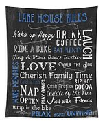 Lake House Rules Tapestry