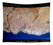 Lake Mead - Planet Art Tapestry