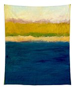 Lake Michigan Beach Abstracted Tapestry