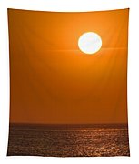 Lake Michigan Sunrise Chicago Tapestry