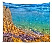 Lake Ontario At Chimney Bluff Tapestry