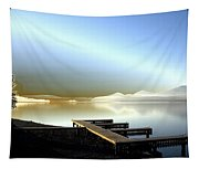 Lake Pend D'oreille Fantasy Tapestry