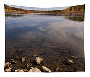 Lake Pomme De Terre In October Tapestry