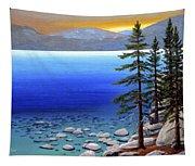 Lake Tahoe Sunrise Tapestry