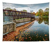 Lake Waterford Fall Waterscape Tapestry