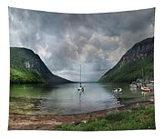 Lake Willoughby  Panorama One Tapestry