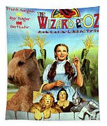 Lakeland Terrier Art Canvas Print - The Wizard Of Oz Movie Poster Tapestry